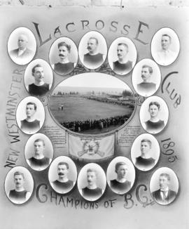New Westminster Lacrosse Club 1895 Champions of B.C.