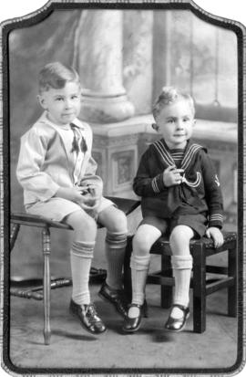 George and Ethel Hartwick's sons