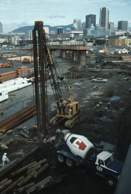 Cambie Bridge Construction [13 of 76]