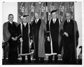 Fortieth anniversary of the first convocation of the University of British Columbia
