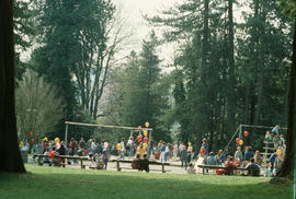 Stanley Park playground during Centennial birthday celebration at Stanley Park