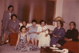 Lillian Wong and other ladies including Mrs. (Huang) Gong Xin [1 of 4]