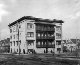 The Kenilworth apartments [843 Cardero Street]
