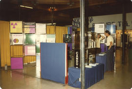 Canadian Nuclear Program CANDU display booth