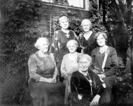 [Six daughters of Captain and Mrs. Angus Grant]