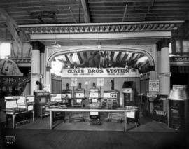 Clare Bros. Western display of stoves and furnaces