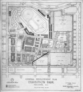 General development plan, Exhibition Park, Vancouver, B.C.