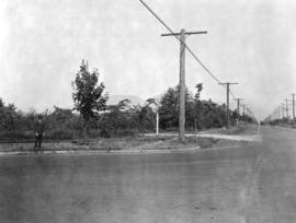 [Granville Street at Connaught Drive and 29th Avenue looking north]