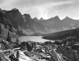 [Valley of the Ten Peaks from Banff National Park]