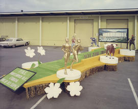 Pacific National Exhibition float for 1968 P.N.E. Opening Day Parade