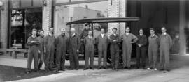 Begg Motor Co. - Service Staff Aug. 1917