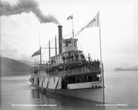 C.P.R. CO's S.S. Rossland on Columbia River, B.C.