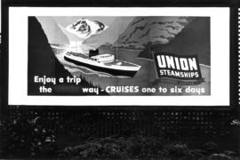 [Union Steamship's] billboard