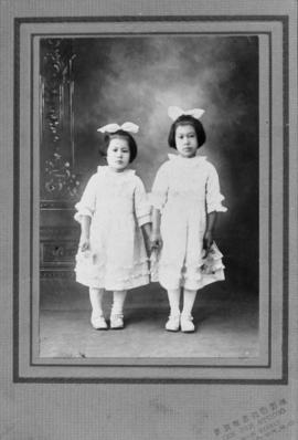 Two unidentified girls
