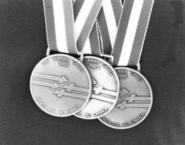 1985 Vancouver Gay and Lesbian Summer Games medals