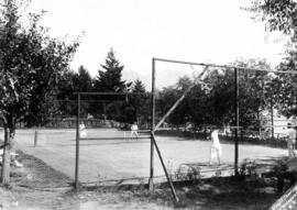 [Tennis courts]