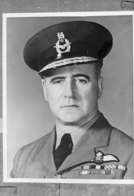 Air Marshall Robert Leckie C.B. Chief of Air Staff