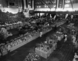 Horticultural show in the P.N.E. Forum