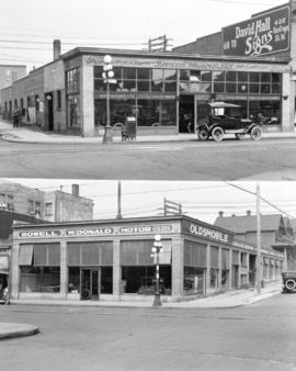 [Dixon Motors Ltd., 1291-1299 Granville Street (top), and Bowell McDonald Motor Co. Ltd., 1105 Gr...