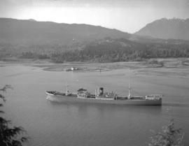 "S.S. ""Chumleigh"" [in Burrard Inlet]"
