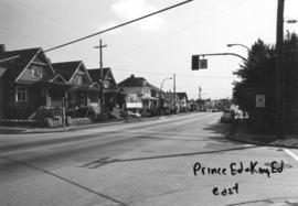 Prince Edward [Street] and King Edward [Avenue looking] east