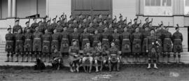 No. 1 Platoon, No. 1 Co., 72 Seaforths, B.C. Regt.