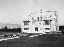 [Exterior of the Main Library at U.B.C.]