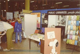 Display about public libraries