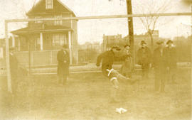 CS [Chinese Students' Athletic Association] Junior [soccer team] vs. Edith Cavell, Tim Mahon...