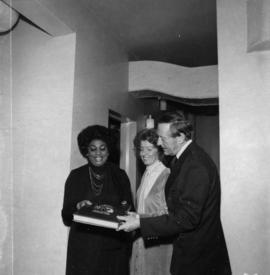 Leontyne Price, Grace McCarthy and Hugh Pickett