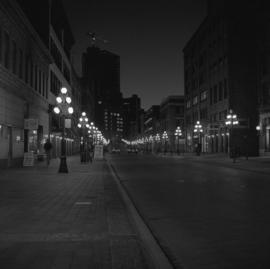 Water Street [at night]