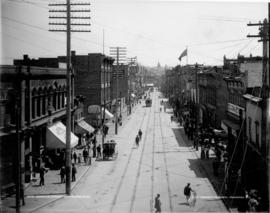 Cordova Street, Vancouver, B.C. [looking east from Cambie Street]