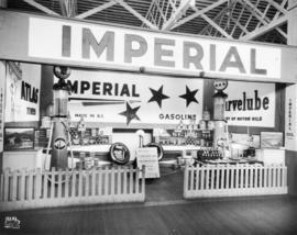 Imperial Oil display of automotive products