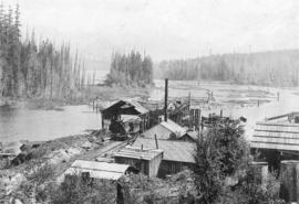 Loading camp - Gordon Pasha Lake, Camp 6 - Brooks-Scanlon-O'Brien Company Limited