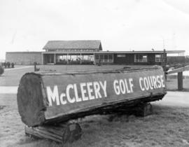 [Exterior of the McCleery Golf Course's Clubhouse - 7171 MacDonald Street]