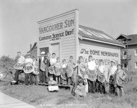 12th Avenue and Nanaimo New Westminster [showing Vancouver Sun Carrier Service Department No. 41 ...