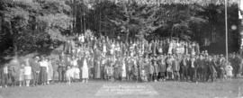 Vancouver Engineering Works Annual Picnic - Bowen Island, Aug. 10th - 1918