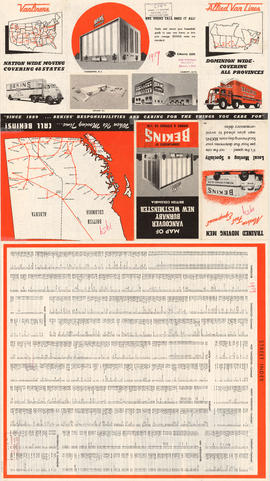 Map of Vancouver, Burnaby, New Westminster, British Columbia : street index and advertisements