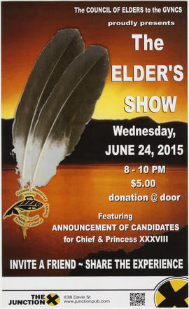 The Council of Elders to the GVNCS proudly presents The Elder's Show : Wednesday, June 24, 2015 :...