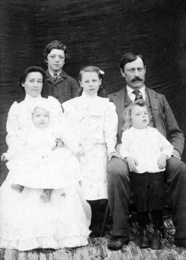 Mr. and Mrs. John Kinsella and family