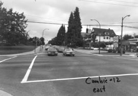 Cambie [Street] and 12th [Avenue looking] east