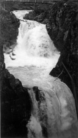 [View of] Little Qualicum Falls