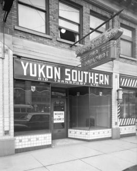 [Yukon Southern Air Transport Ltd. office, 575 Dunsmuir Street]
