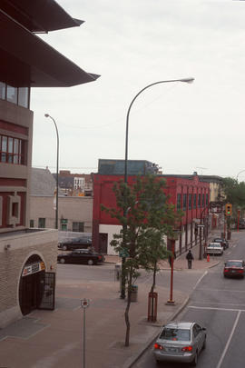Street in Winnipeg Chinatown