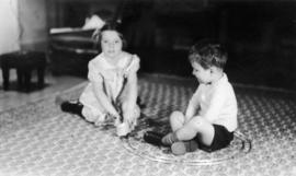The children playing : [Jane Banfield and John Banfield]