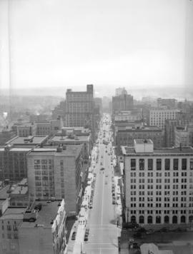 Hastings Street from the Marine Building