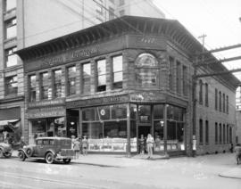 [527 Granville Street, Canadian National Railway business offices]