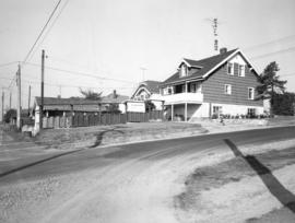 Slocan Street, west side, between 5th Avenue and lane south - view west