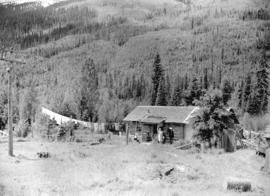 Section Foreman's home on C.N.R. near Blue River, B.C.