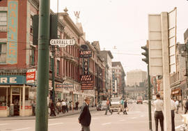 [View of West Cordova Street from Carrall Street]